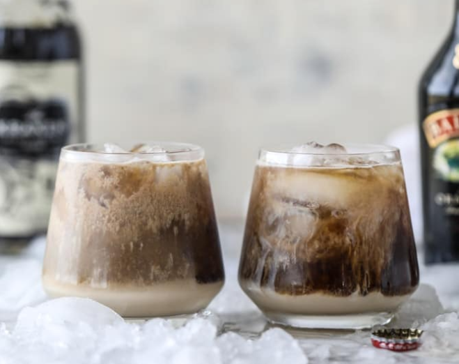 ROOT BEER RUM CREAMS #vodka #drinks