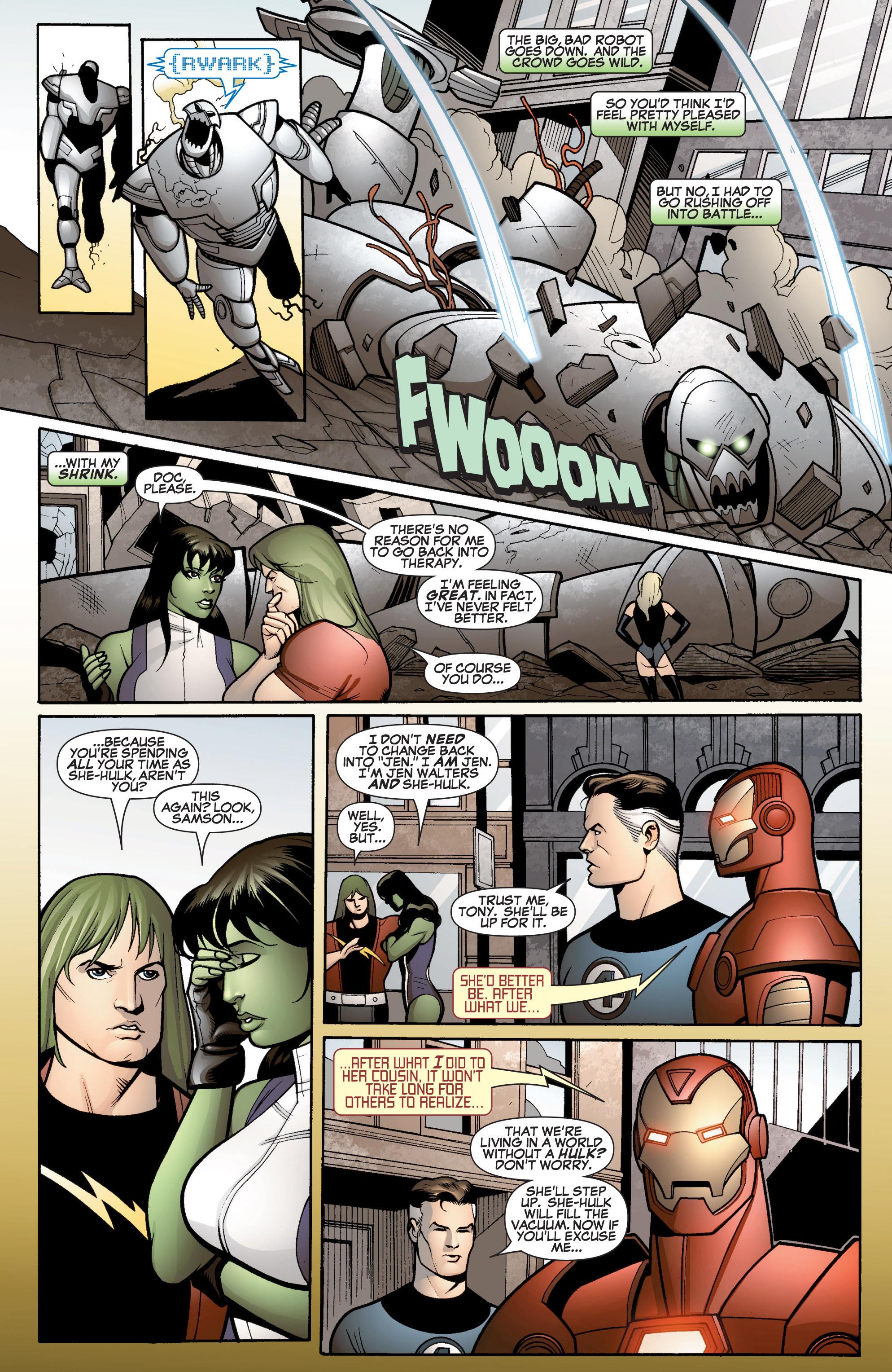 Read online She-Hulk (2005) comic -  Issue #15 - 3
