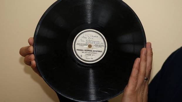 Extremely Rare Beatles record found