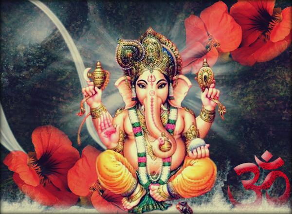 Khushi For Life Hindu God Wallpaper Lord Ganesh Ganapati Bapa
