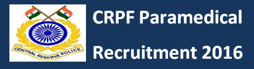 CRPF Paramedical Previous Papers