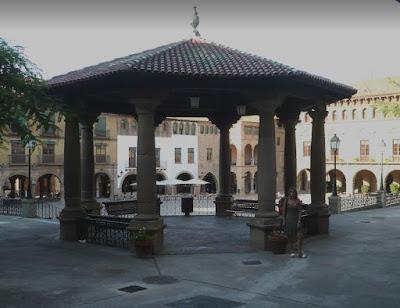 plaza Mayor nel Poble Espanyol