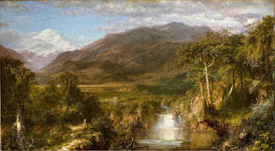 Frederic Edwin Church,Heart of the Andes (1859)