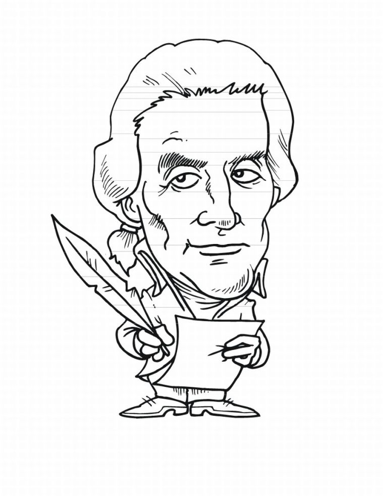 Free Coloring Pages : Presidents Day Coloring Pages