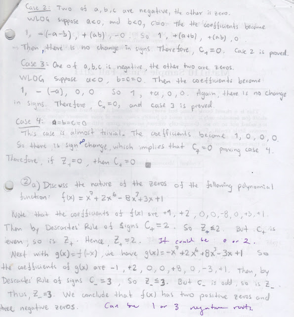 My old math homework from UC Berkeley : Math 152 hw4