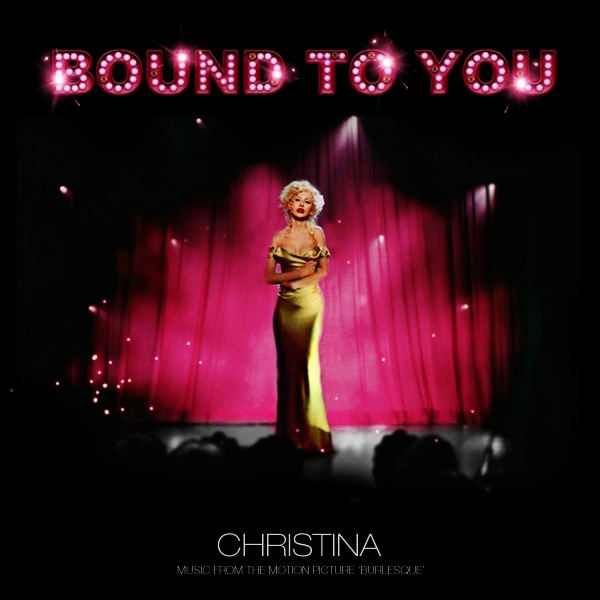 Just Cd Cover Christina Aguilera Bound To You
