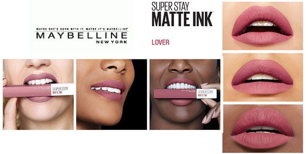 Barra de Labios Mate Superstay Matte Ink de Maybelline - Tono 15 Lover
