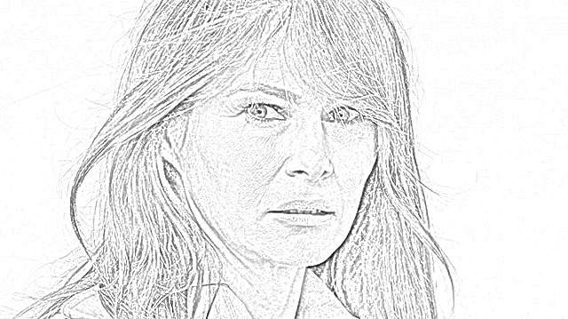 Coloring Pages: Melania Trump Coloring Pages Free and