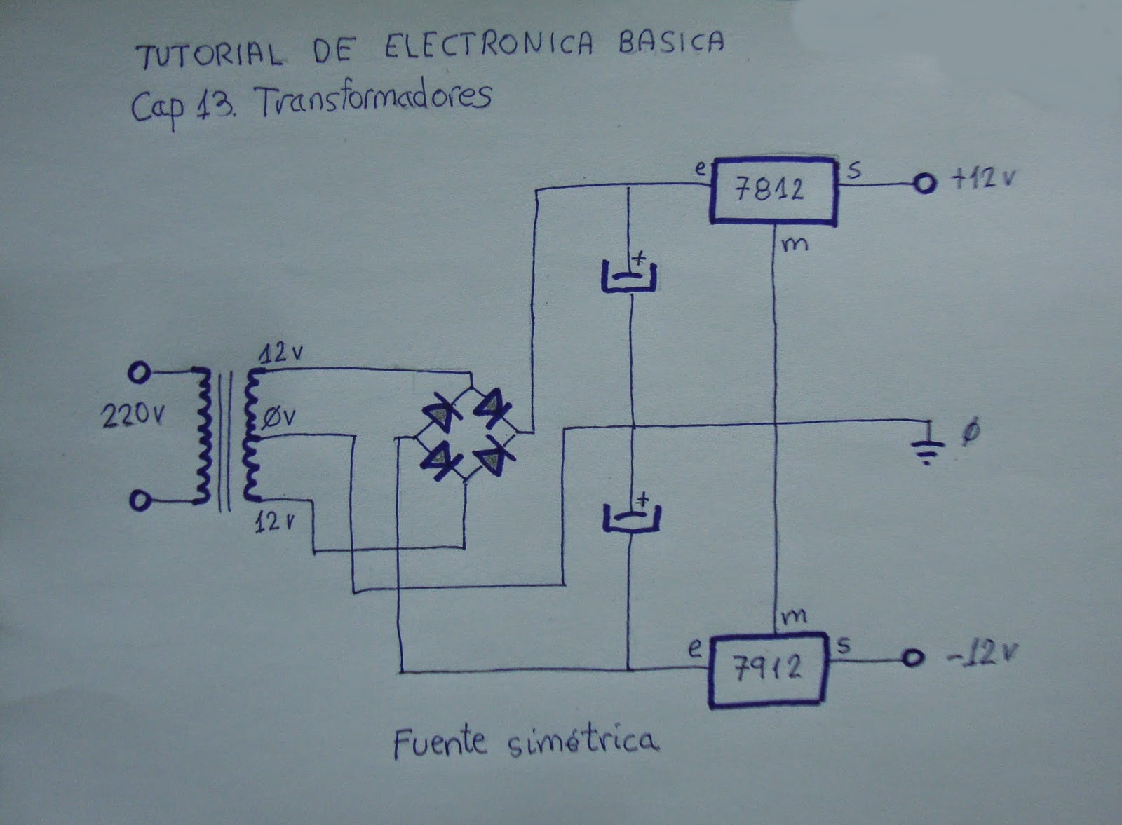 Electr nica b sica cap 13 transformadores vilavide for Transformadores de corriente 220v a 12v