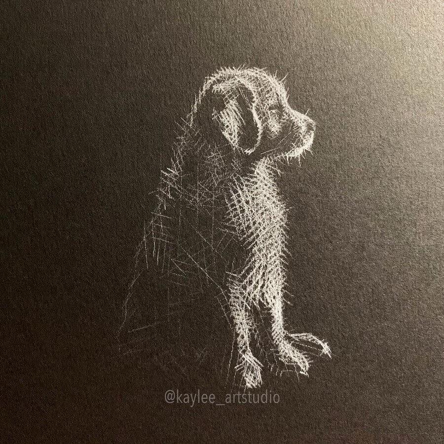 01-Little-Puppy-Kay-Lee-Drawings-www-designstack-co