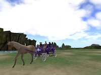 Horse Carriage Inworldz
