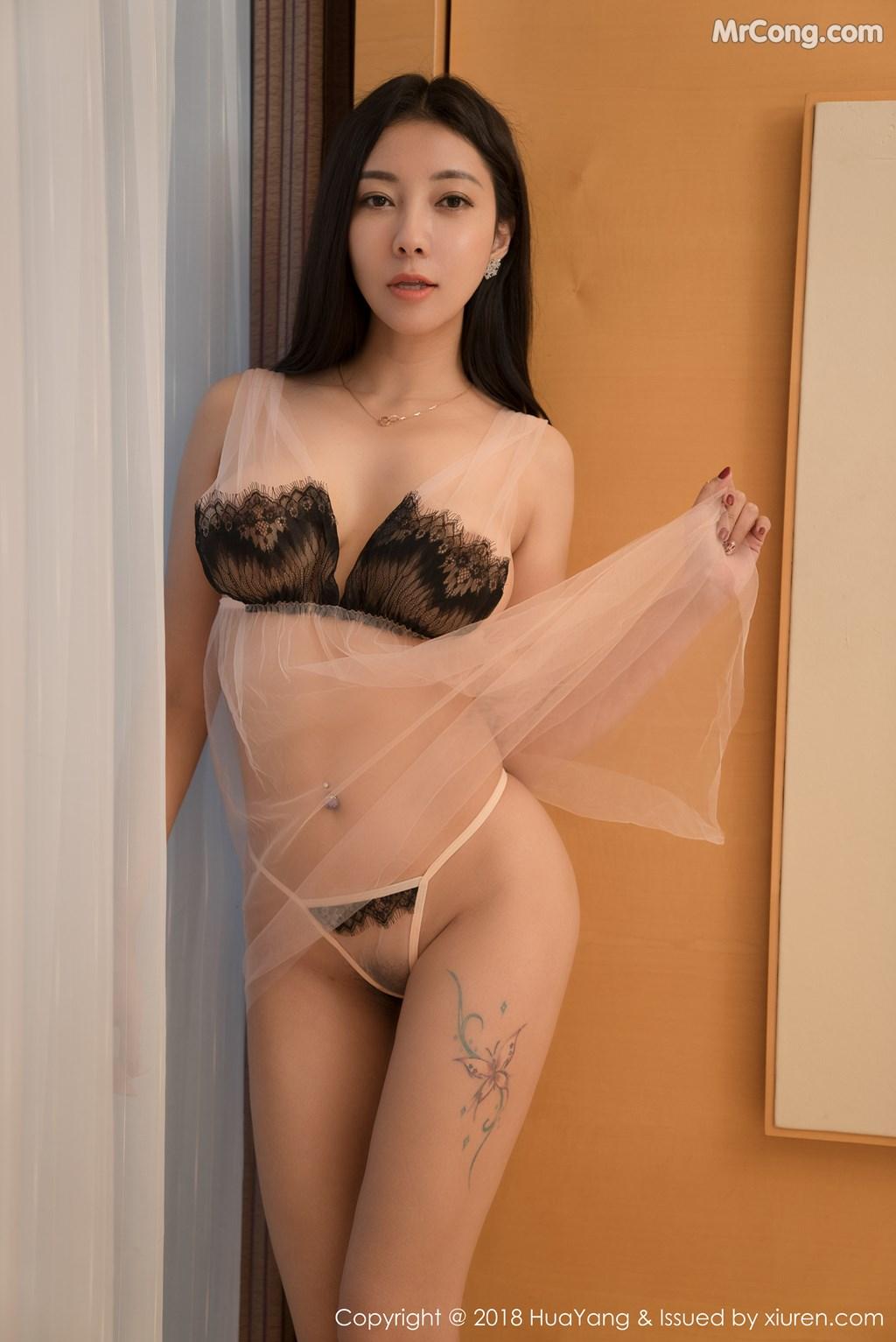 Image HuaYang-2018-01-26-Vol.028-Victoria-Guo-Er-MrCong.com-009 in post HuaYang 2018-01-26 Vol.028: Người mẫu Victoria (果儿) (41 ảnh)