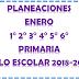 PLANEACIONES (enero) 1° 2° 3° 4° 5° 6° CICLO ESCOLAR 2018-2019.