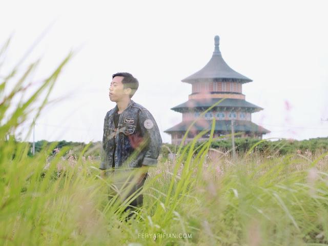 Pagoda Kenjeran Park - Fery Arifian | Food & Travel Blogger Malang