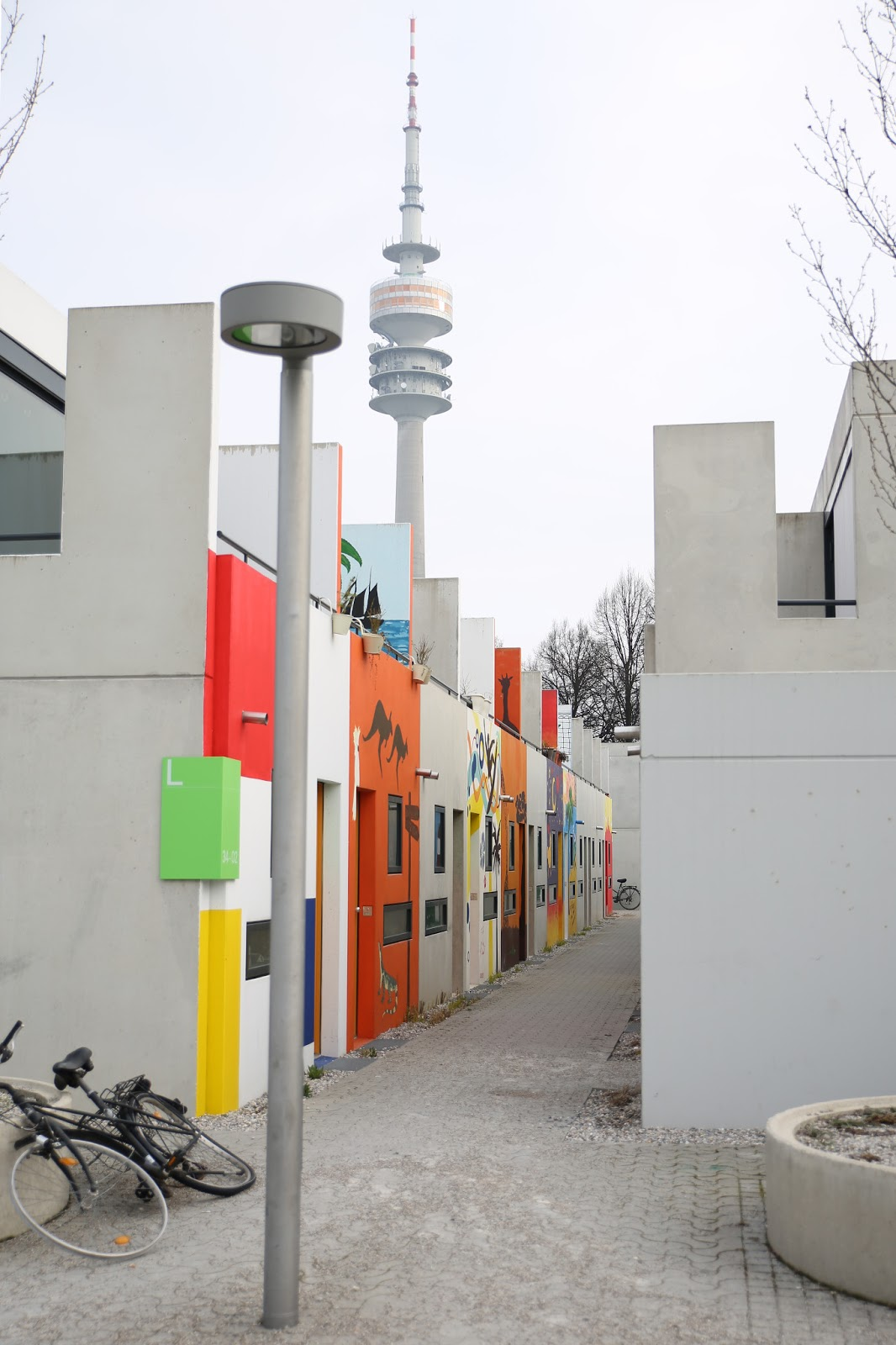 Fraubath: Rebuilt student housing at the Olympic Village ...