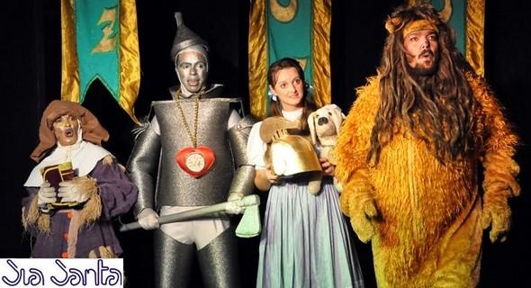 Peça infantil 'No Reino Mágico de OZ'  séra exibida hoje gratuitamente no Theatro Avenida