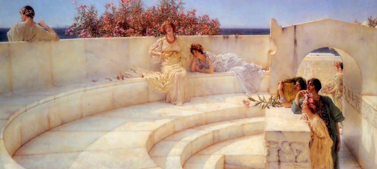Victorian British Painting Sir Lawrence Alma Tadema