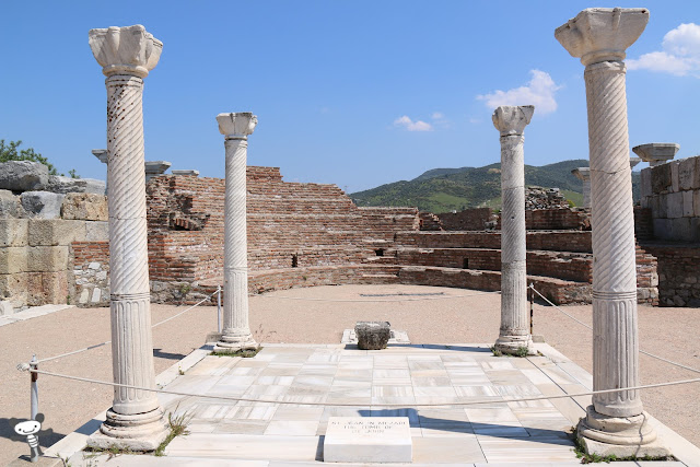 The tomb of St John in Ephesus, Kusadasi, Turkey