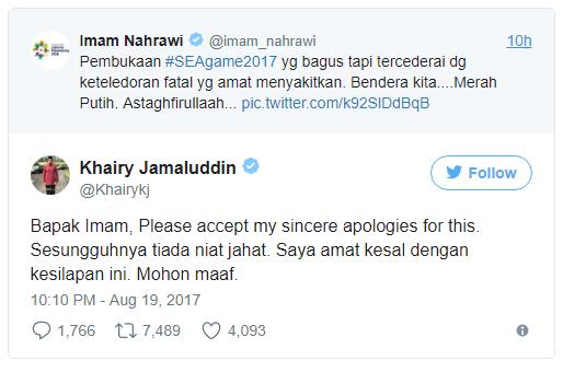 Insiden Bendera Indonesia Terbalik, Panpel SEA Games Malaysia Minta Maaf