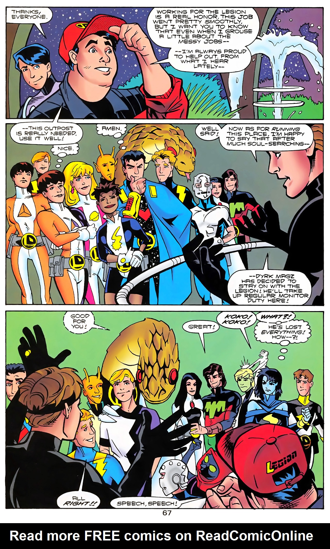 Legion of Super-Heroes (1989) 100 Page 60