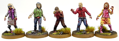 Prelude to Woodbury Walkers Painted