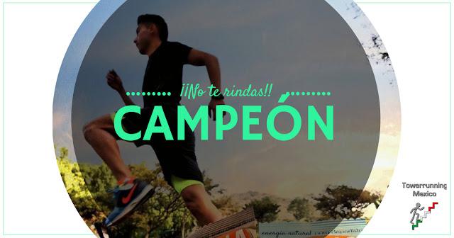 Campeón mexicano de Towerrunning