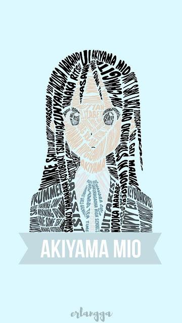 Akiyama Mio Wallpaper