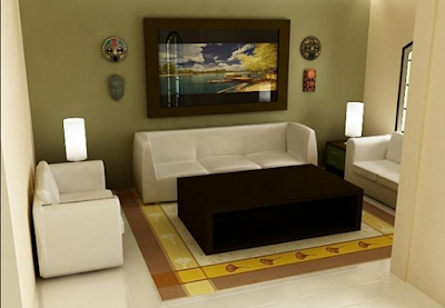 model ruang tamu minimalis