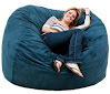 Cozy Sack 5-Feet Bean Bag Chair