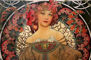 Alfons Mucha - affiche F. Champenois Imprimeur Éditeur (1897) Collection particulière