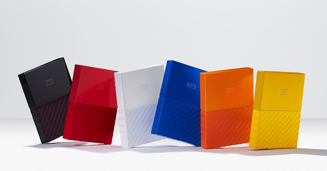 WD 今天宣布推出重新設計的 My Passport、My Passport for Mac 和 My Book 硬碟系列