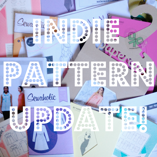 December Indie Pattern Update!