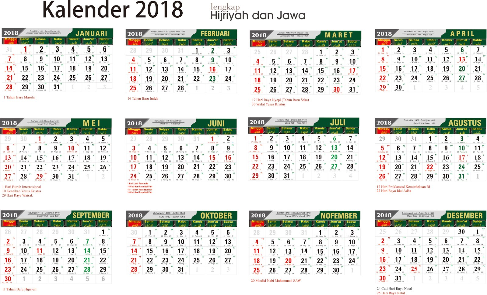 download kalender 2018 lengkap jawa arab download ebook umum dan mata pelajaran. Black Bedroom Furniture Sets. Home Design Ideas