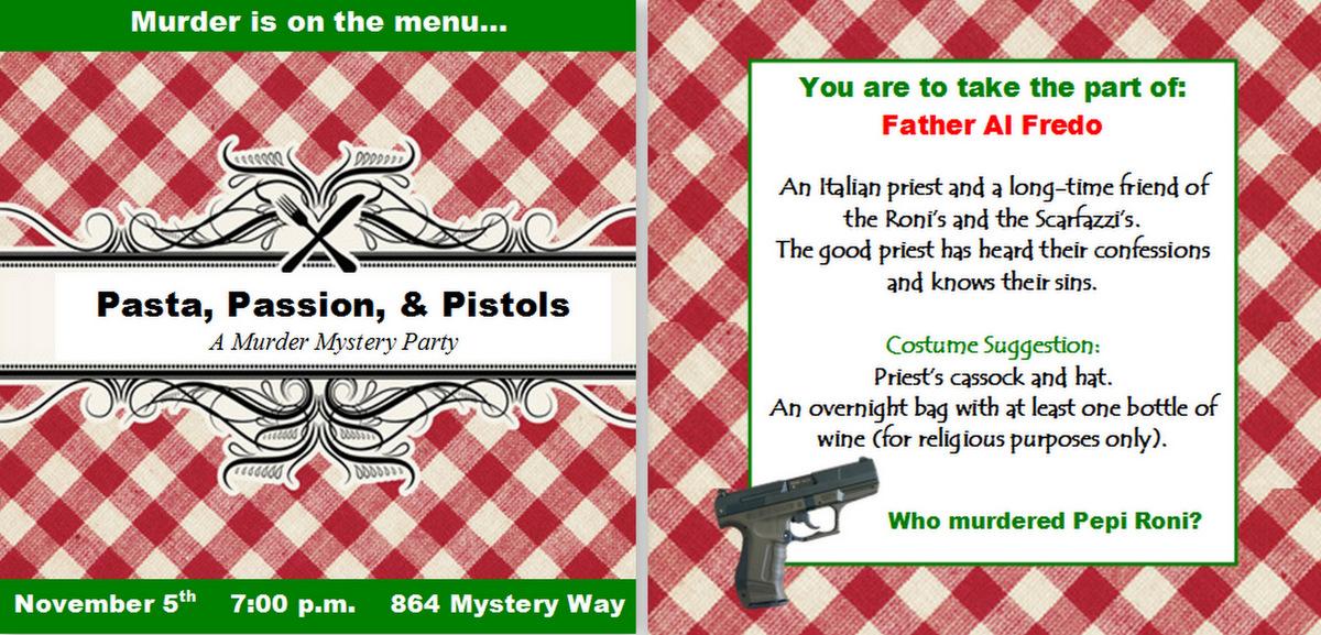 Invite And Delight Murder Mystery Dinner Night