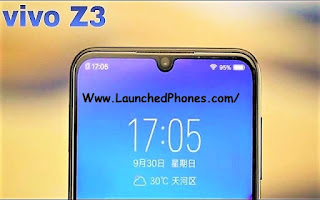This latest mobile shout out upwards is launched alongside the H2O Vivo Z3 launched alongside Qualcomm Snapdragon 670