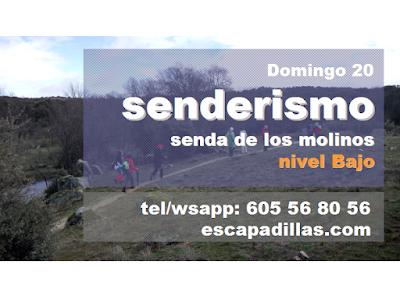 Al rio Perales con el grupo de senderismo - escapadillas.com