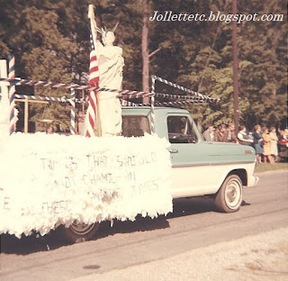 Cradock High School Bible Club Float 1967