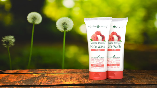 Netsurf launches All-in-one Anti-Pollution Vitamin Therapy Face Wash for Women & Men by Herbs & More!