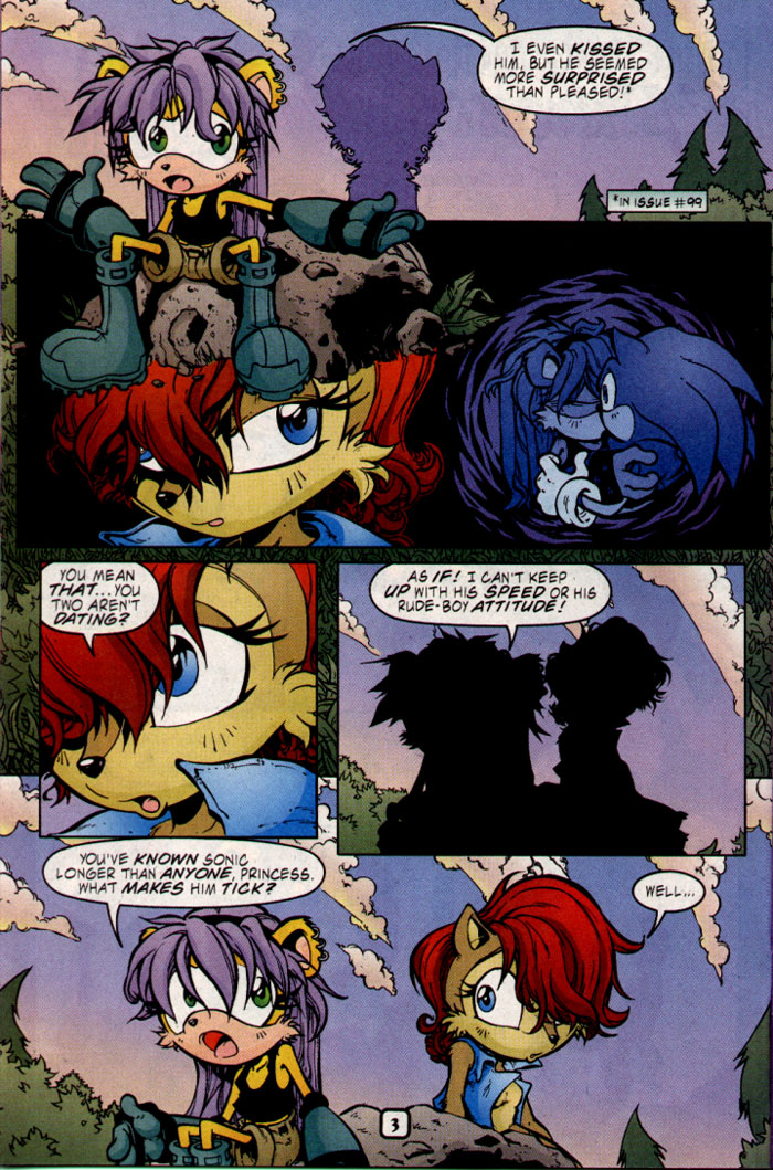 Read online Sonic The Hedgehog comic -  Issue #109 - 19