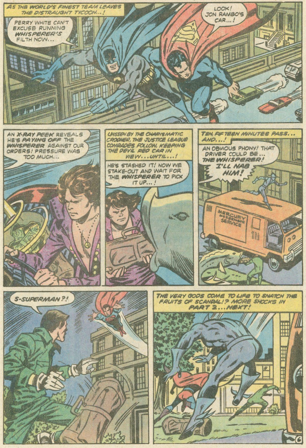 Read online World's Finest Comics comic -  Issue #252 - 10
