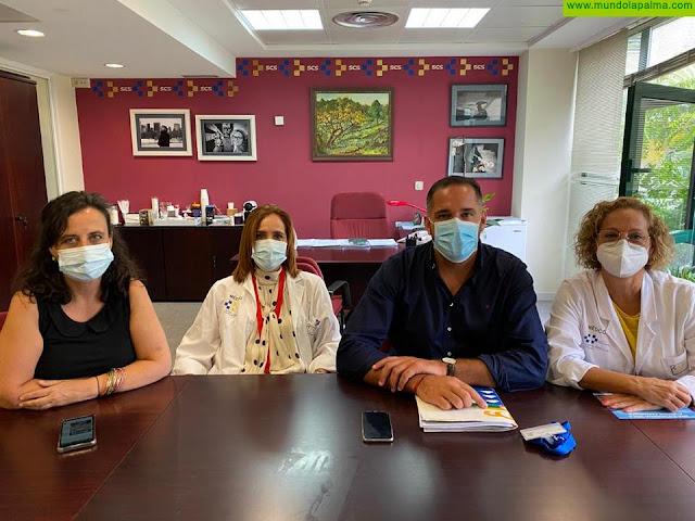 El Hospital General de La Palma refuerza el servicio de Radiología con dos nuevos especialistas