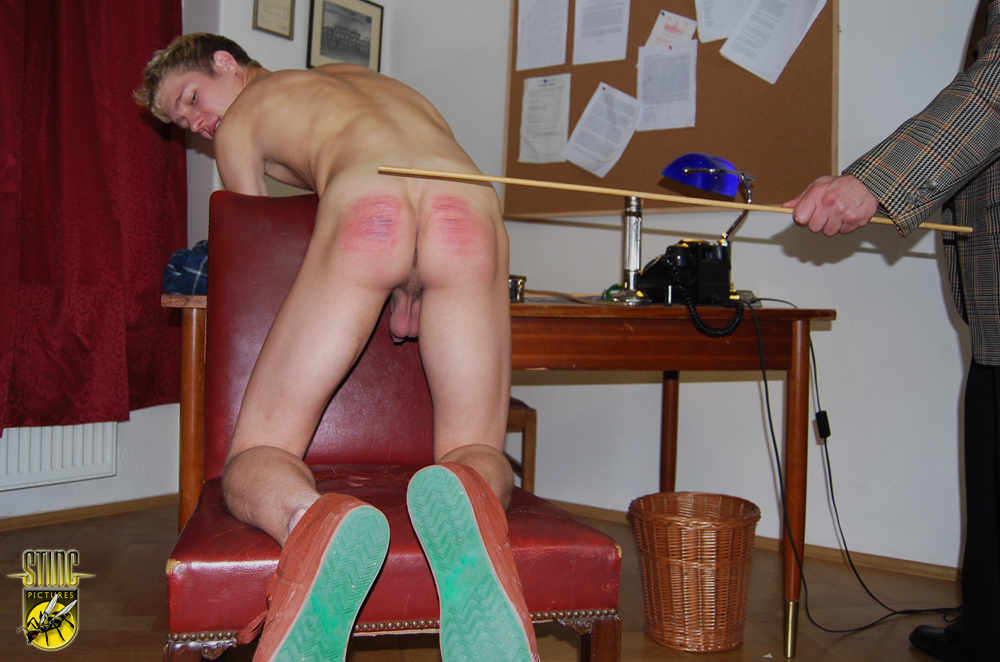 Boy punishment naked his