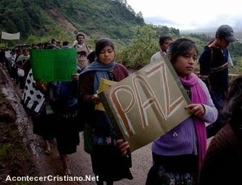 Familias evangélicas sufren persecución en Chiapas