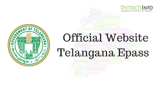 Official Website of Telangana Epass