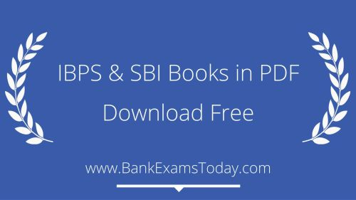Ibps And Sbi Po Books In Pdf Download Free Bankexamstoday