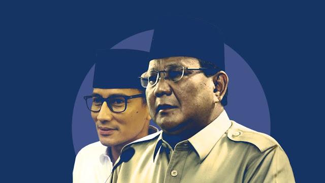 Gerindra Tegaskan Prabowo Pilih Sandiaga Bukan Karena Logistik