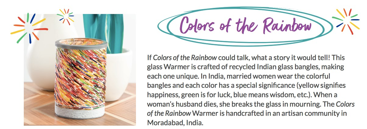 Lynne Biniker Independent Scentsy Consultant Colors Of The Rainbow