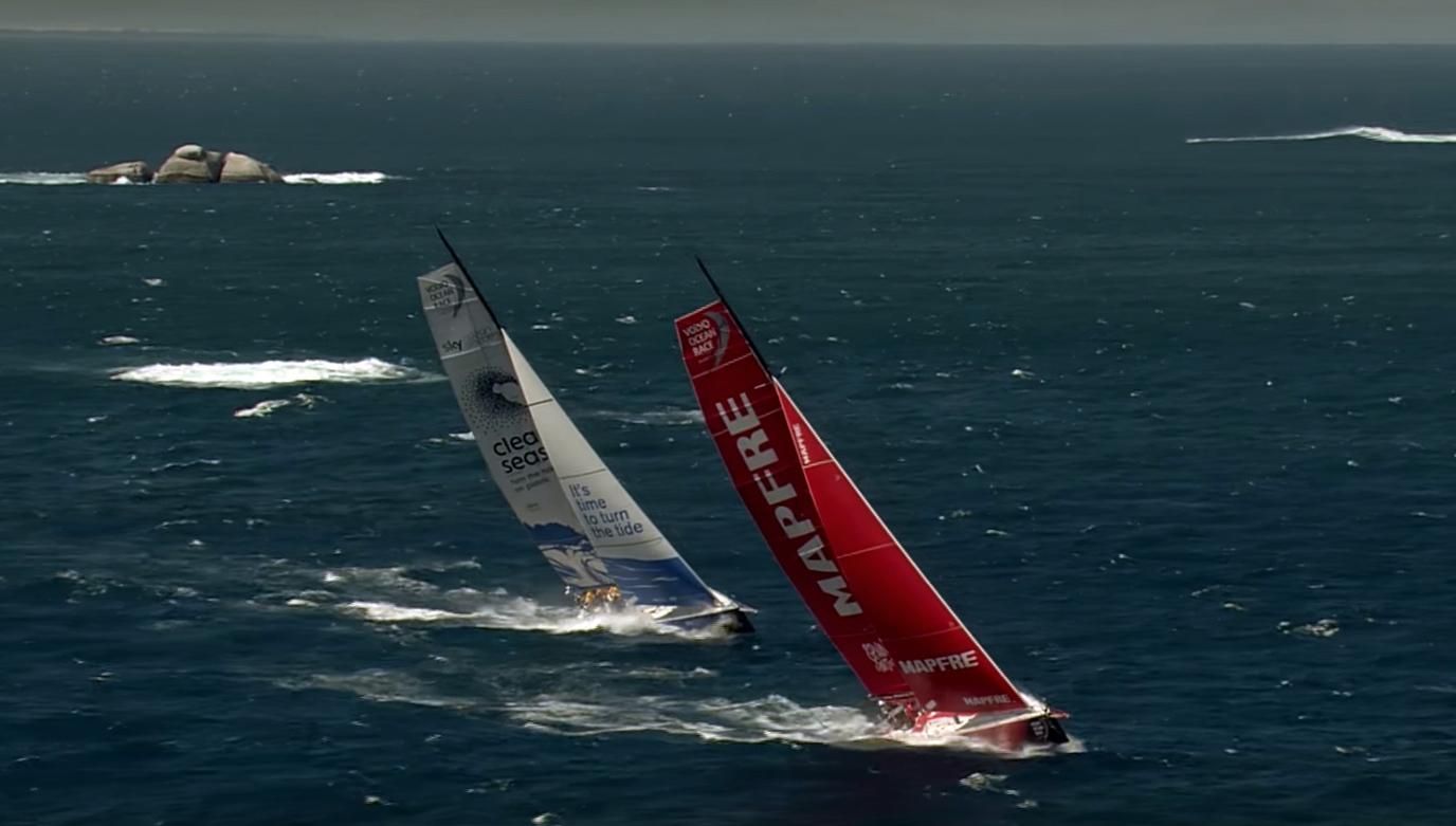 volvo ocean race 2019 route