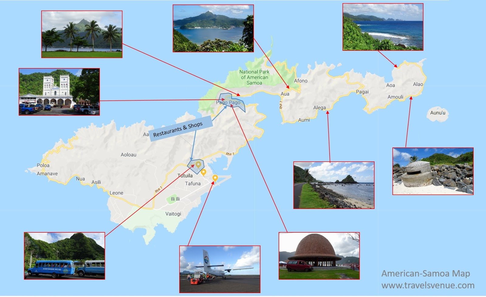 American-Samoa - The