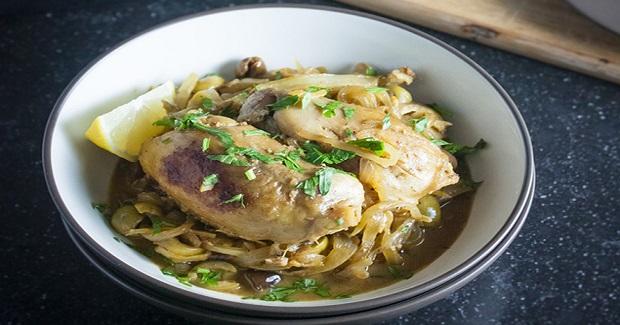 Lemon And Olive Chicken Tagine Recipe